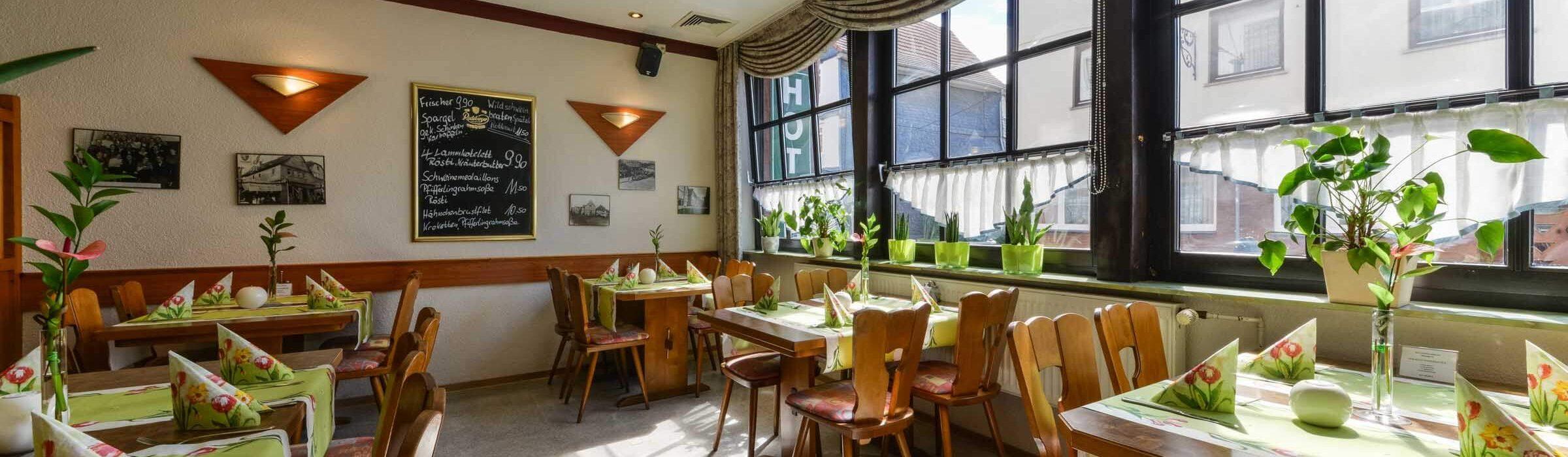 Hotel Restaurant Hessischer Hof Kirchhain - Restaurant