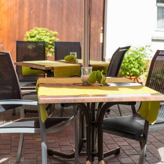 Hotel Restaurant Hessischer Hof Kirchhain - Terrasse