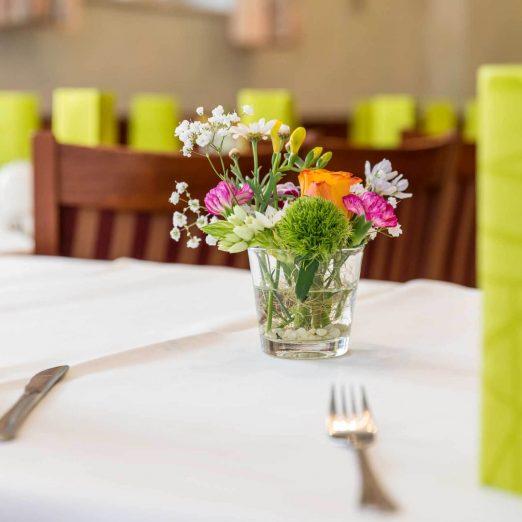 Hotel Restaurant Hessischer Hof Kirchhain - Tischdekoration